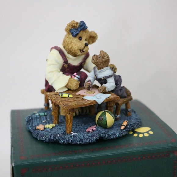 Boyds Bear Momma with Taylor ..Quality Time 1st Ed